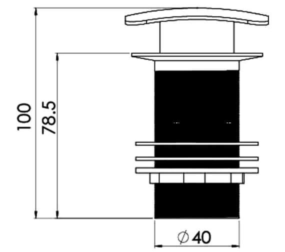 Technical drawing QS-V29501 / 540s