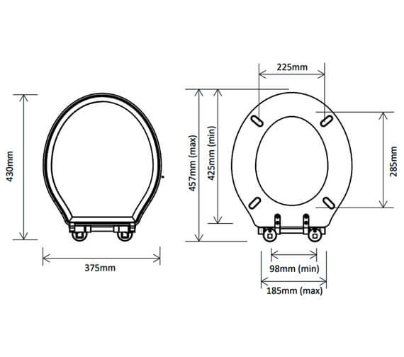 Technical drawing QS-V98794 / DC4005