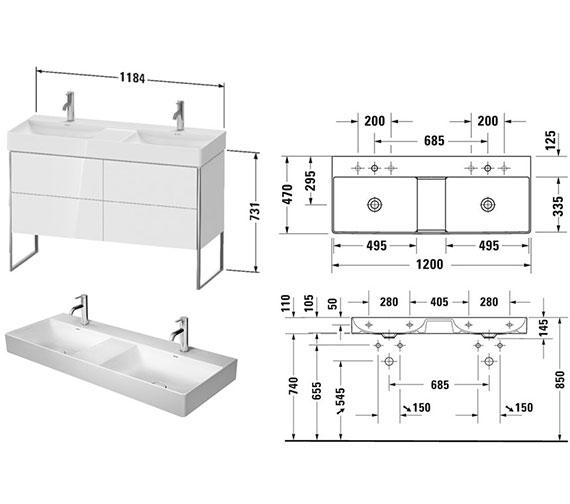 Technical drawing QS-V106608 / XS445601818