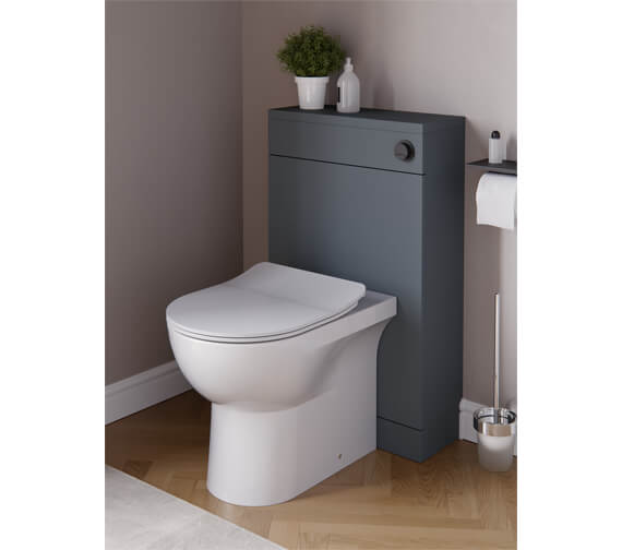 Saneux Austen 500mm Floor Standing Back To Wall WC Unit