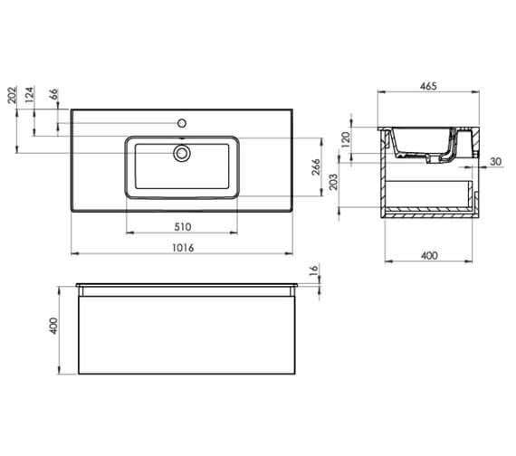 Technical drawing QS-V104749 / UN060W1.MW