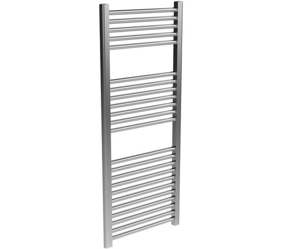 Additional image of Saneux Ember Dual Fuel Heated 500mm Wide Towel Rail