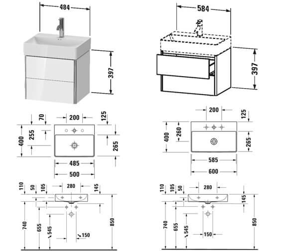 Technical drawing QS-V106611 / XS430501818