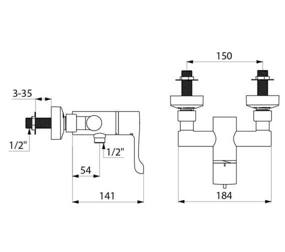 Technical drawing QS-V106826 / H963015