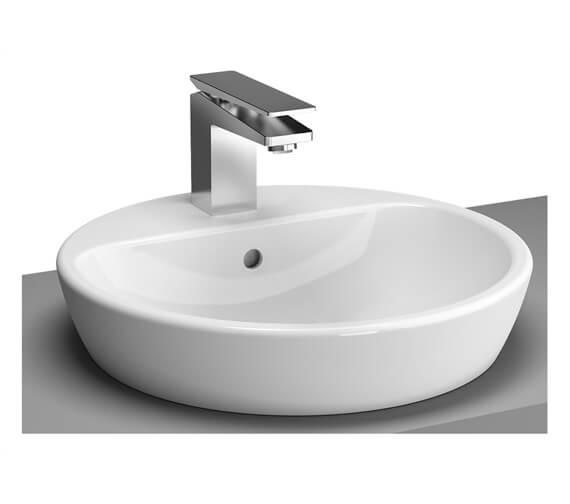 VitrA M-Line 1 Tap Hole Round Countertop Basin