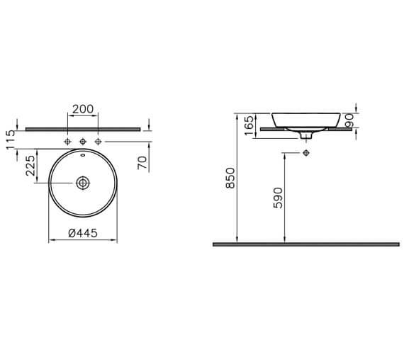 Technical drawing QS-V106835 / 5941B003-0001