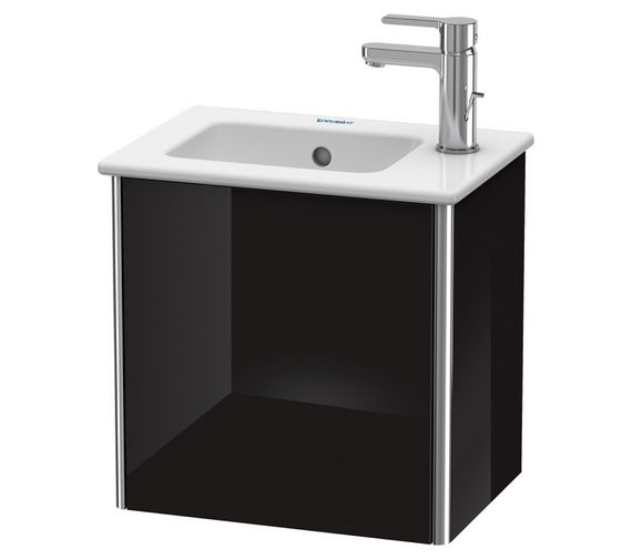 Additional image of Duravit XSquare 410 x 289mm Wall-Mounted 1-Door Vanity Unit For ME by Starck Basin
