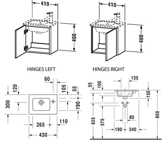 Technical drawing QS-V106613 / XS4170L1818