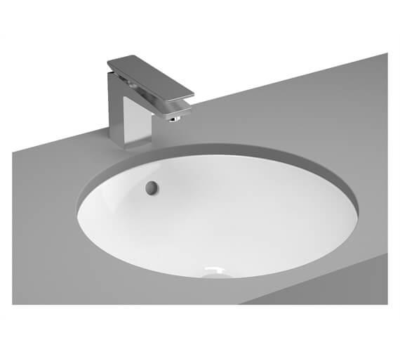 VitrA M-Line 445mm White Round Inset Basin