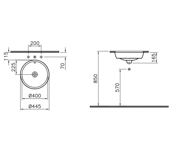 Technical drawing QS-V106839 / 5940B003-1082