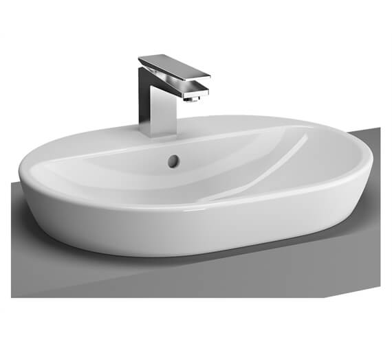 VitrA M-Line Oval Countertop Wash Basin With 1 Tap Hole