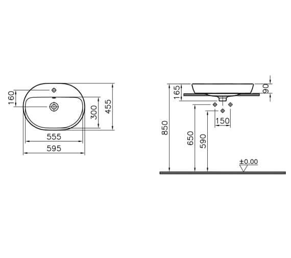 Technical drawing QS-V106837 / 5943B003-0001