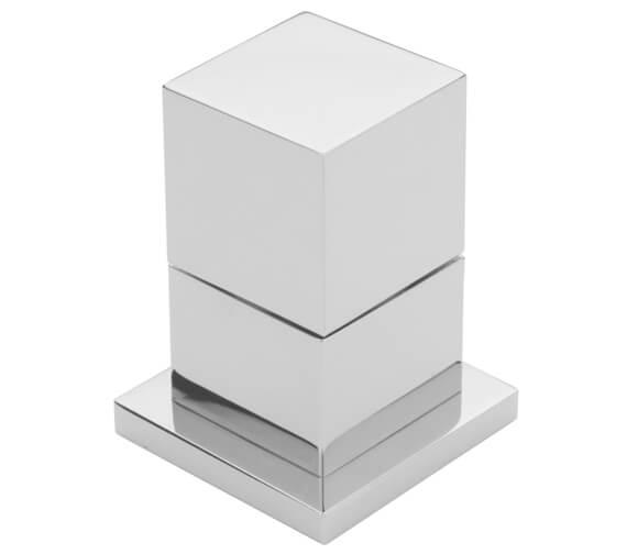 Tre Mercati Square Deck Mounted 2 Way Diverter