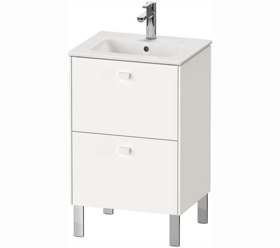 Duravit Brioso 520mm 2 Drawer Floor Standing Vanity Unit For Me By Starck Basin