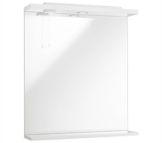 Kartell K-Vit Encore 750mm High Mirror With Lights