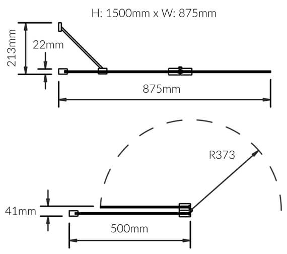 Technical drawing QS-V73756 / 4BASCDUOLHS