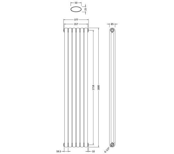 Technical drawing QS-V90271 / HSA002
