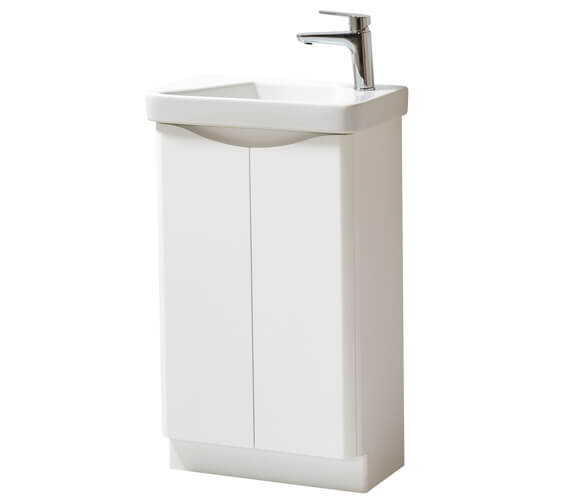 Kartell K-Vit Cayo 2 Door Cloakroom Vanity With Basin
