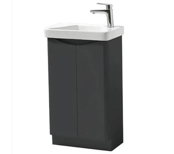 Alternate image of Kartell K-Vit Cayo 2 Door Cloakroom Vanity With Basin