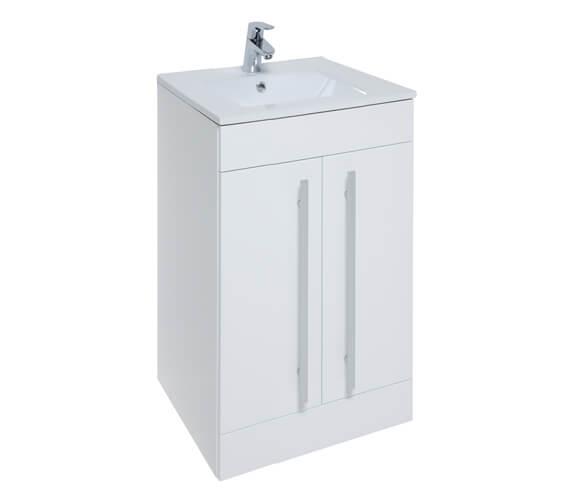 Kartell K-Vit Purity Floor Standing 2-Door Vanity Unit