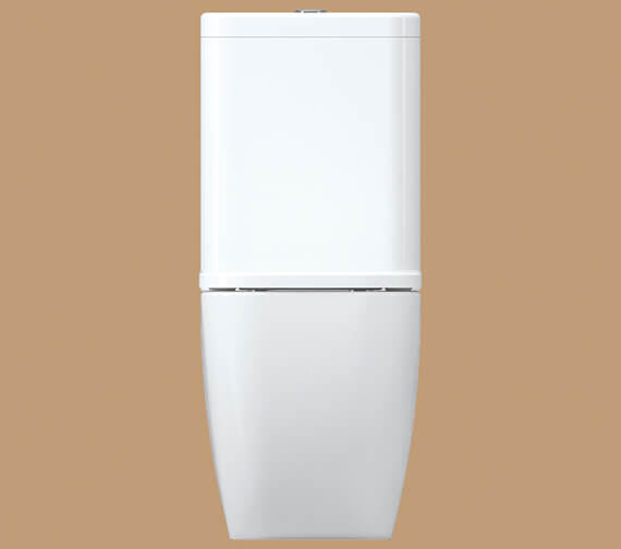 Additional image of IMEX Essence 660mm Close Coupled WC Bowl With Cistern And Seat