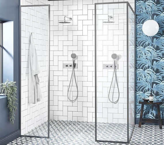 Roper Rhodes Wessex Single Function Exposed Shower Set