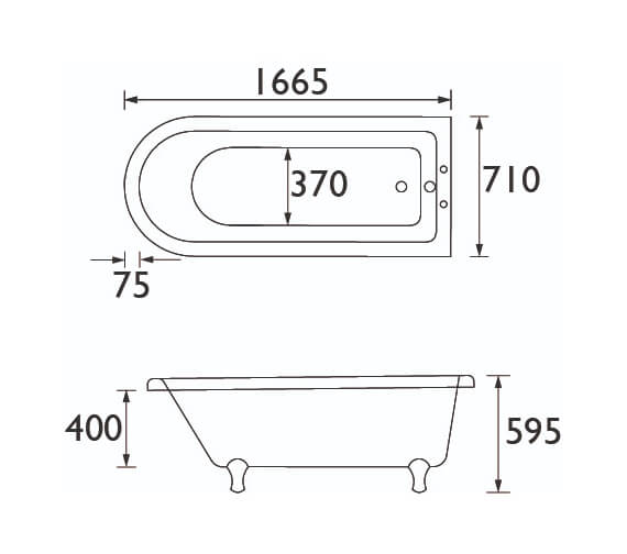 Technical drawing QS-V89354 / BTIFSW00L
