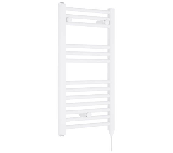 Nuie Straight 400 x 720mm Heated Electric Towel Rail