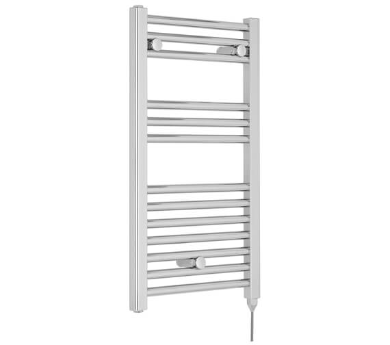 Additional image of Nuie Straight 400 x 720mm Heated Electric Towel Rail