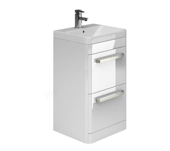 Essential Vermont 2 Drawer Vanity Unit And Basin