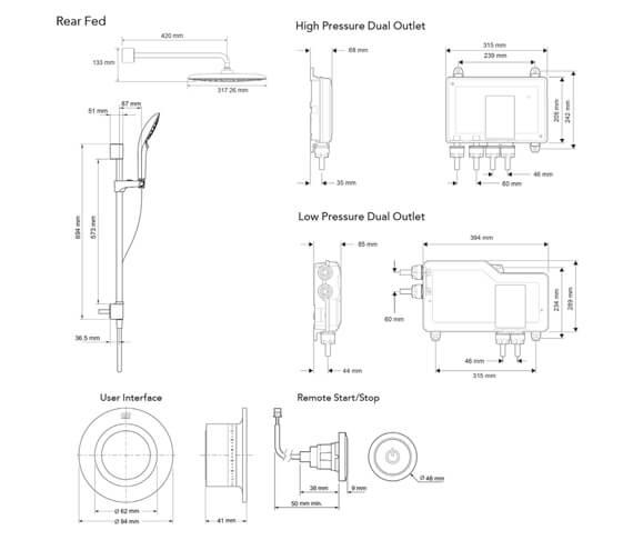 Technical drawing QS-V98230 / 1.1907.001