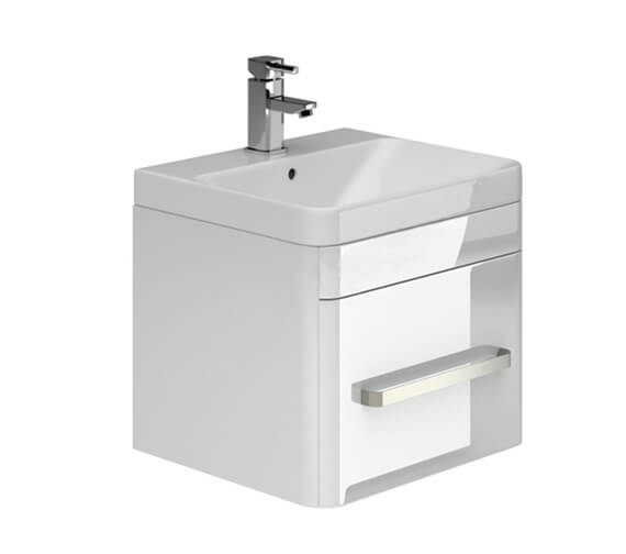 Essential Vermont 500mm Wall Hung Vanity Unit And Basin