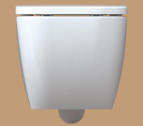 Additional image of IMEX Essence 500mm Wall Hung WC Bowl With Seat