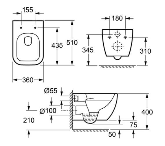 Technical drawing QS-V72193 / CH10100