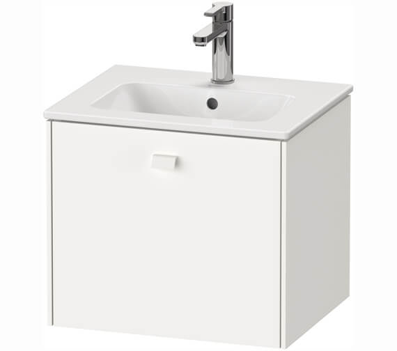 Duravit Brioso 520mm x 442mm 1 Drawer Wall Mounted Vanity Unit For Me By Starck Basin