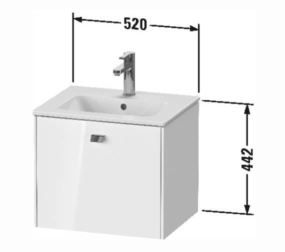 Technical drawing QS-V104774 / BR422701818