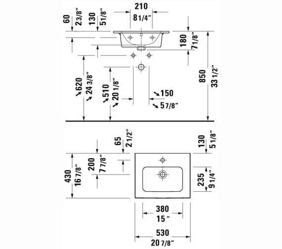 Technical drawing QS-V104802 / LC621801818