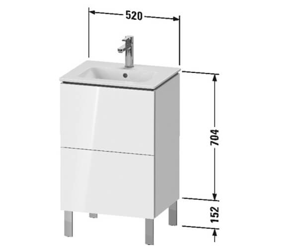 Technical drawing QS-V104803 / LC667101818