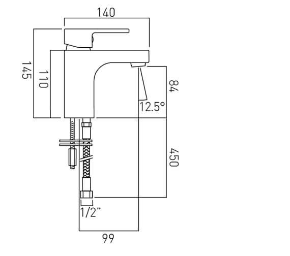 Technical drawing QS-V37093 / LIF-100/SB-C/P