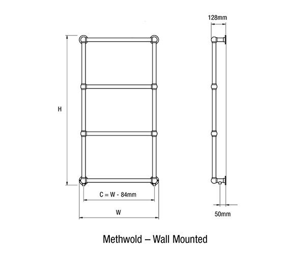 Technical drawing QS-V18761 / Methwold-3 W