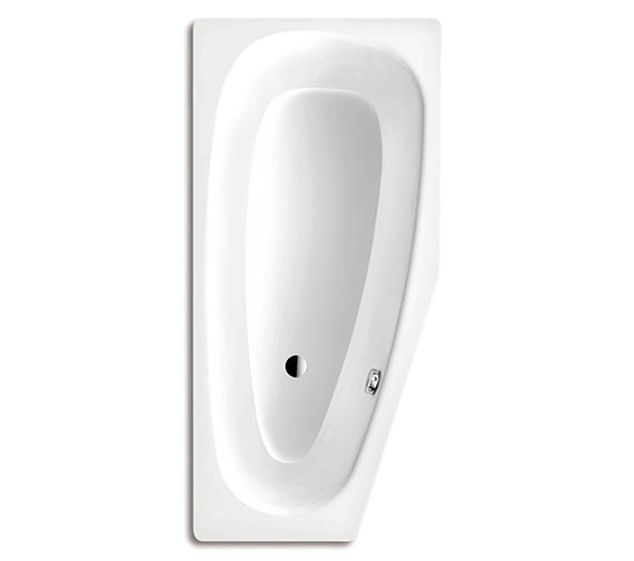 Kaldewei Mini 832 Left Steel Bath 1570 x 750mm With No Tap Hole