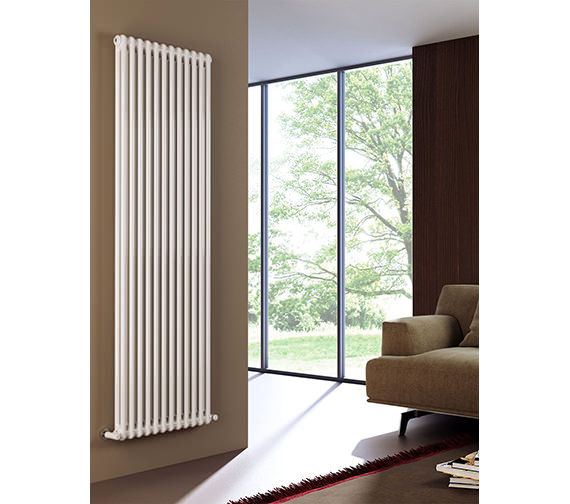 DQ Heating Modus 2 Column 900mm High White Radiator - 4 To 44 Sections