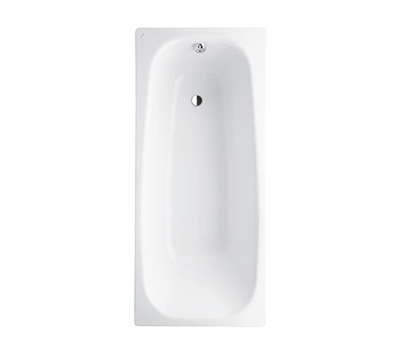 Laufen Pro 1700 x 750mm Steel Bath With Anti Slip And Anti Noise