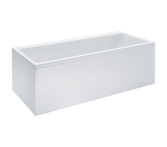 Laufen Pro 1900 x 900mm Double Ended Acrylic Bath With Panel