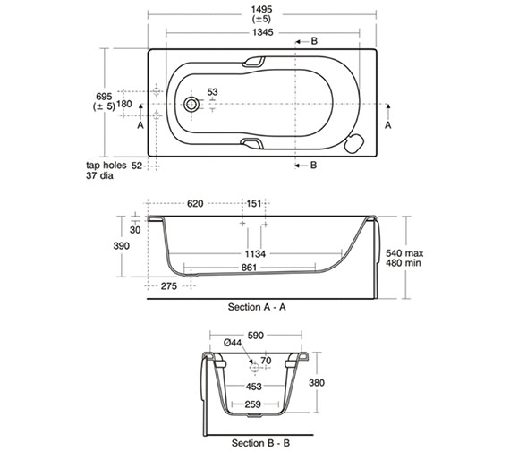 Technical drawing QS-0001 / E416401