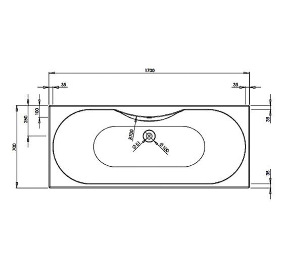Technical drawing QS-V29933 / BH008S2