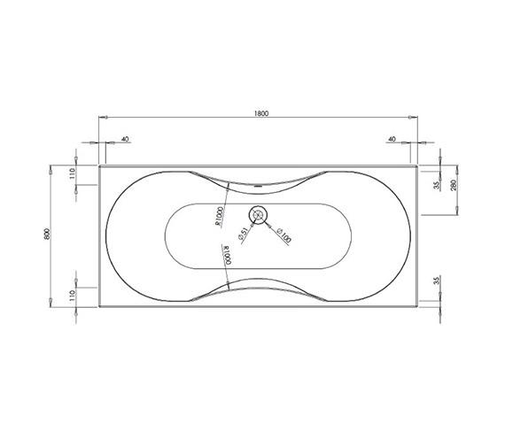 Technical drawing QS-V37494 / BH005S2