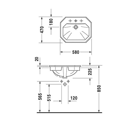 Technical drawing QS-D19302 / 0476580030