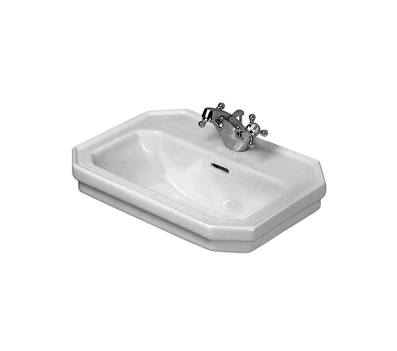 duravit 1930 series 1 tap hole handrinse basin 500mm 0785500000. Black Bedroom Furniture Sets. Home Design Ideas