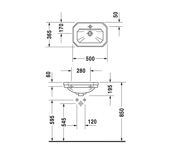 Technical drawing QS-D19303 / 0785500000